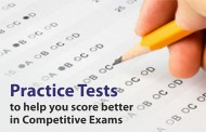 Practice Tests to score better in Competitive Exams like NEET and JEE