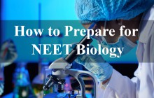 How to prepare for NEET Biology?