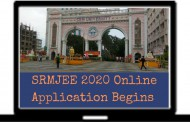 SRMIST Activates the Link of SRMJEE 2020 Online Application