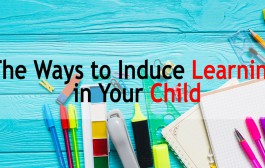 The Ways to Induce Learning in Your Child