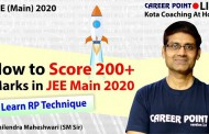 How to score 200+ Marks in JEE Mains 2020
