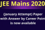 Online Crash Course for JEE Main 2020 - Free Live Course Directly at your home