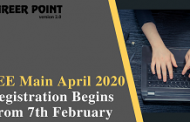 JEE Main April 2020 Registration Begins From 7th February on jeemain.nta.nic.in