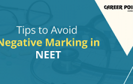 Tips to Avoid Negative Marking in NEET