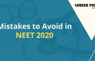 Mistakes to avoid in NEET 2020
