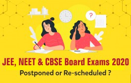 HRD Ministry, CBSE & Other Concerned Authorities Likely To Reconcile Re-scheduled Exams; Remain Tuned To Know More