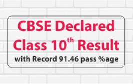 CBSE Declares Class 10th Result 2020; records pass percentage at 91.46