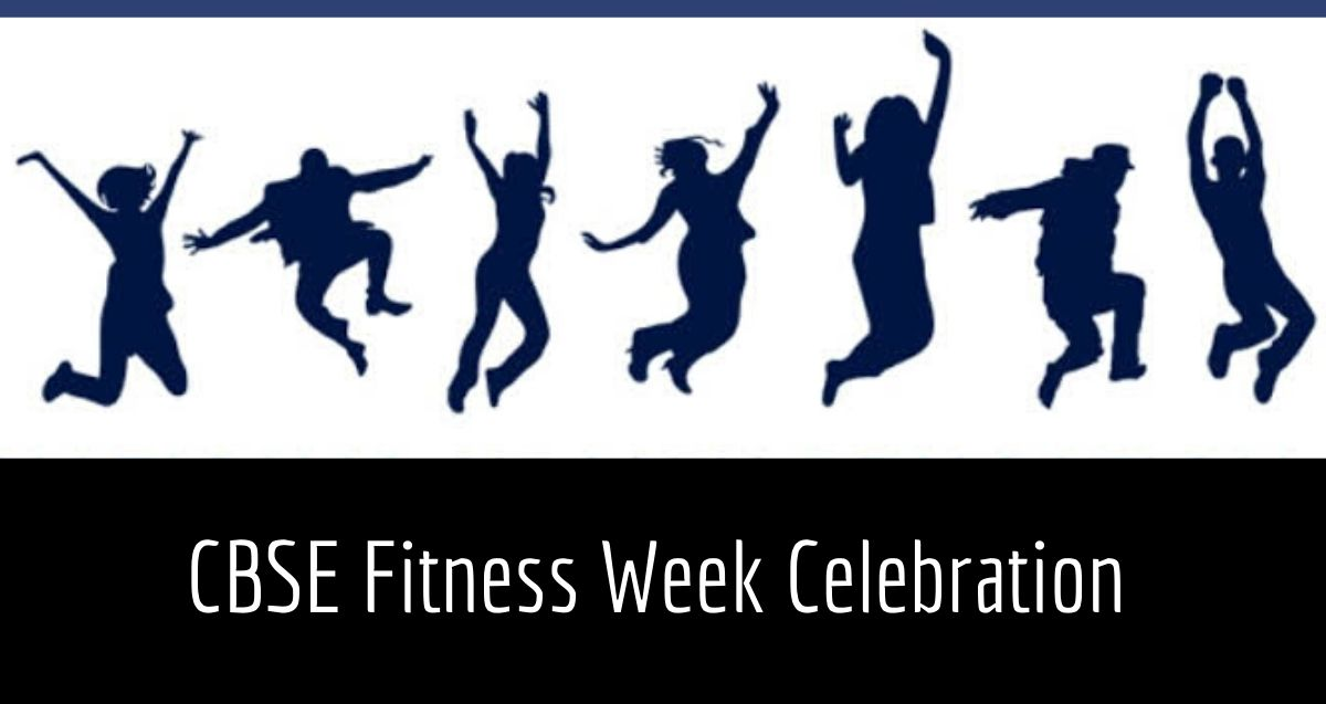 CBSE Fitness Week Celebration to promote physical fitness