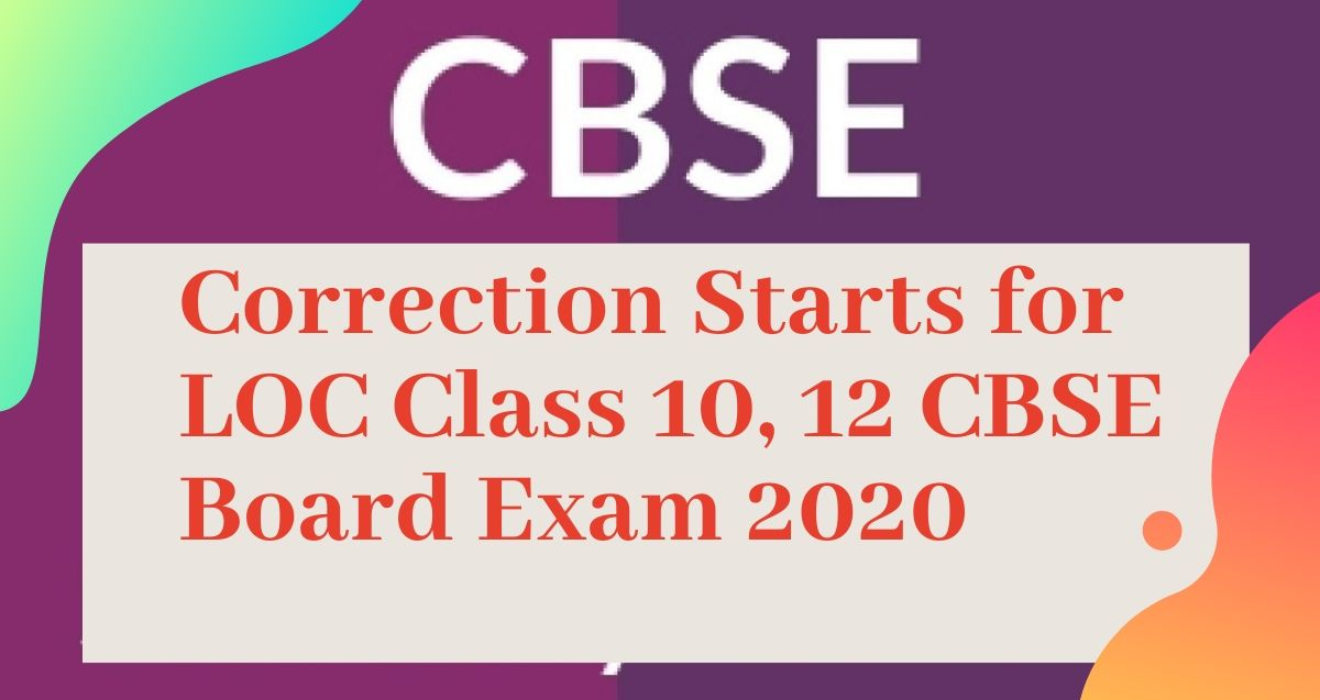 Correction starts for class 10, 12 CBSE Board Exam 2020. Last chance to choose class 10th Maths Standard or Maths Basic.