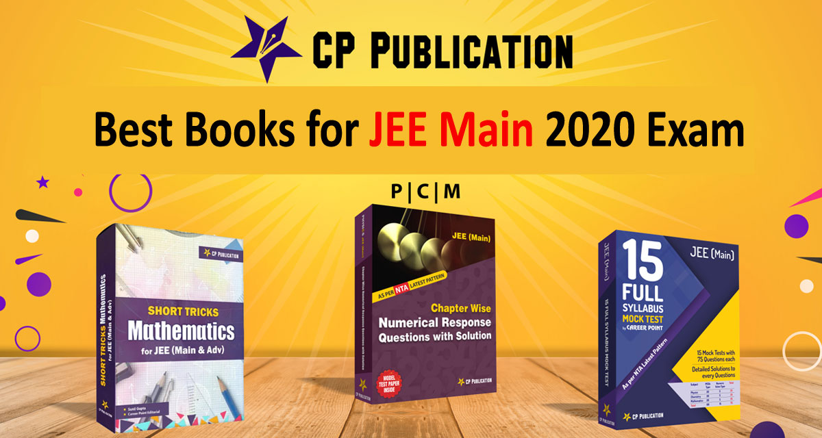 Best Books for JEE Main 2020 Exam