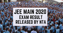 JEE-Main-january-2020-Exam-Result-Declared