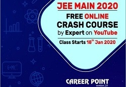 Online Crash Course for JEE Main 2020